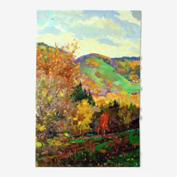 Полотенце «Осень в Жигулях»