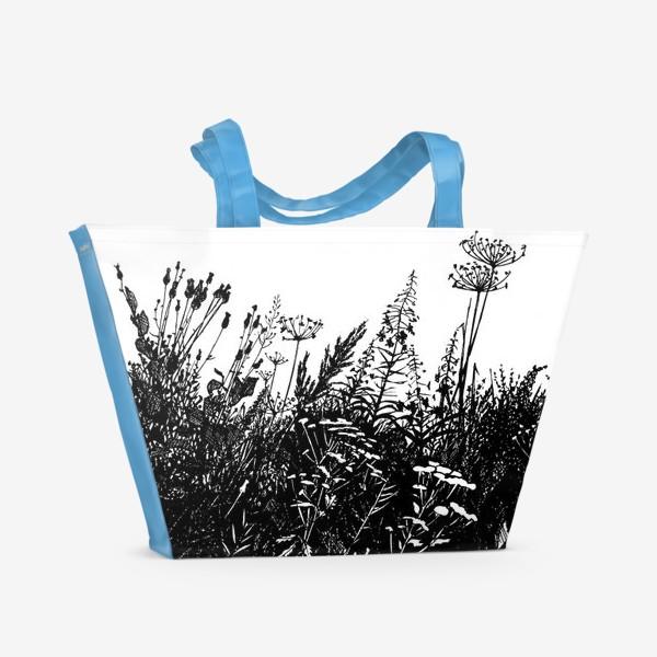 Пляжная сумка «Разнотравье»