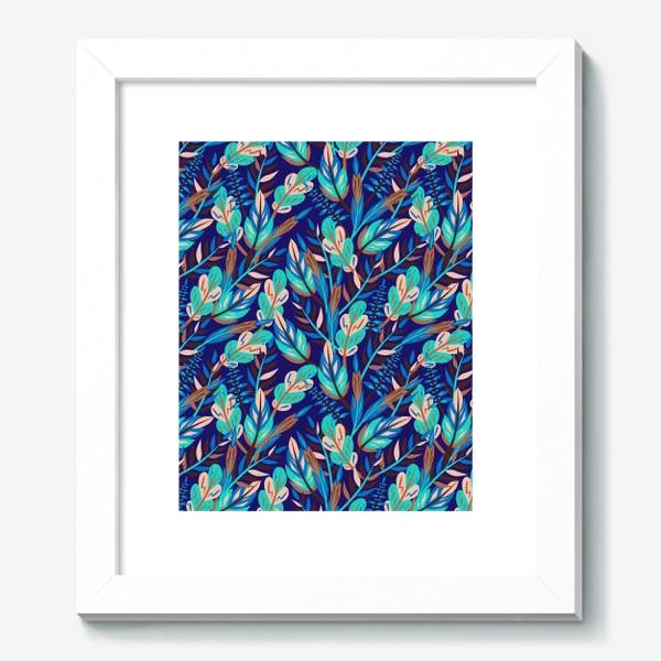 Картина «Весенние листья в синеве»