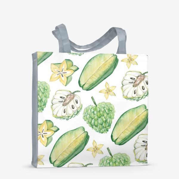 Сумка-шоппер «Экзотические фрукты»
