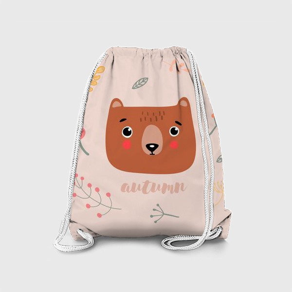Рюкзак «осенний мишка»