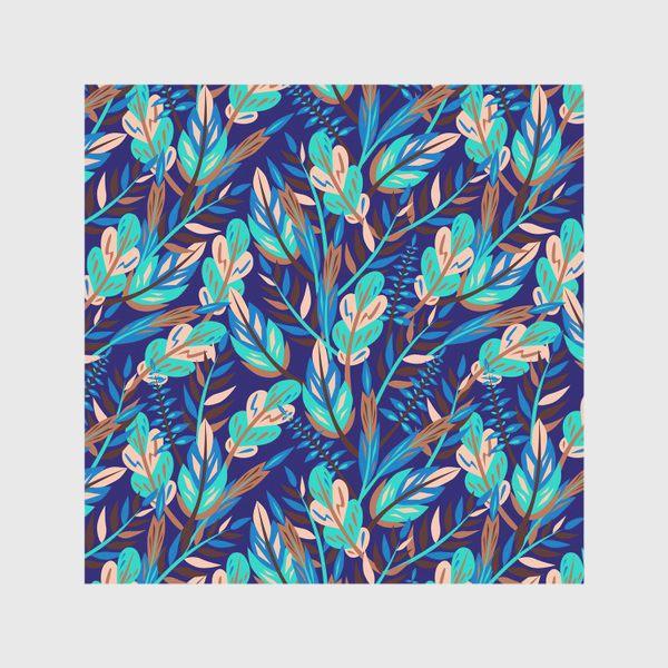 Скатерть «Весенние листья в синеве»