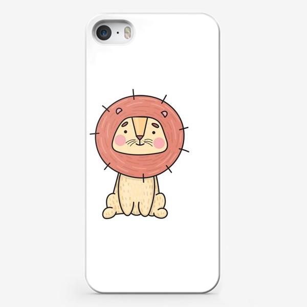 Чехол iPhone «Львенок»