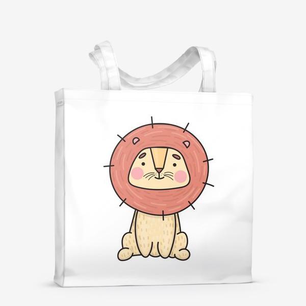 Сумка-шоппер «Львенок»
