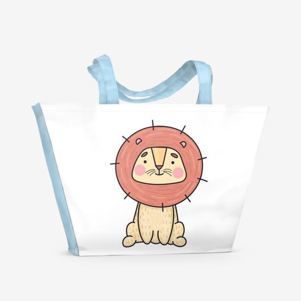 Пляжная сумка «Львенок»