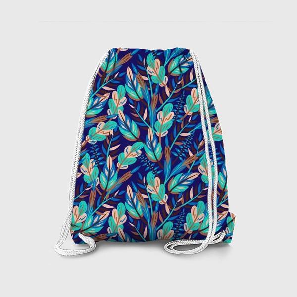 Рюкзак «Весенние листья в синеве»