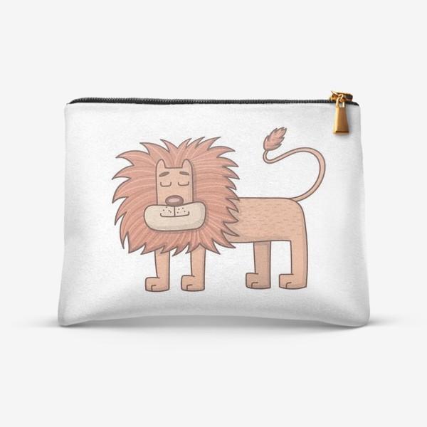 Косметичка «Лев»
