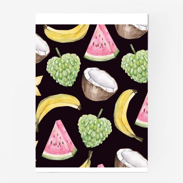 Постер «Экзотические фрукты»
