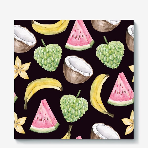 Холст «Экзотические фрукты»