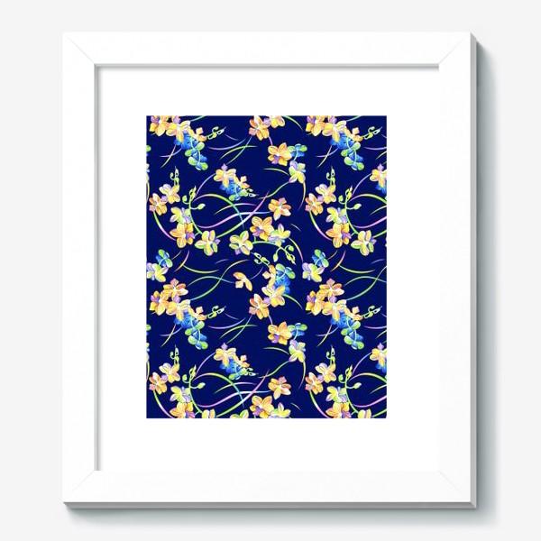 Картина «Тропические орхидеи»