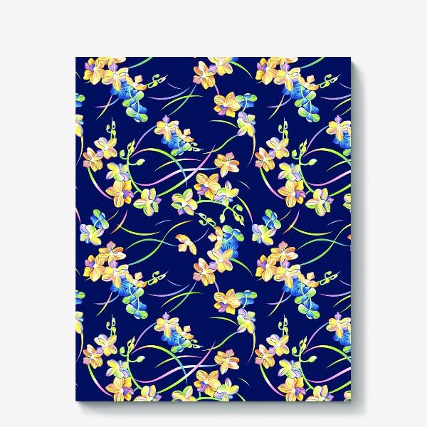 Холст «Тропические орхидеи»
