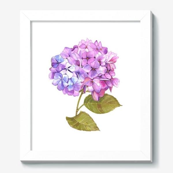 Картина «Розовая гртензия»