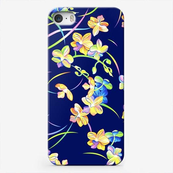 Чехол iPhone «Тропические орхидеи»