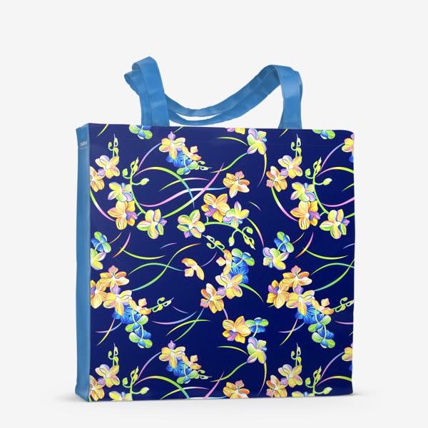 Сумка-шоппер «Тропические орхидеи»