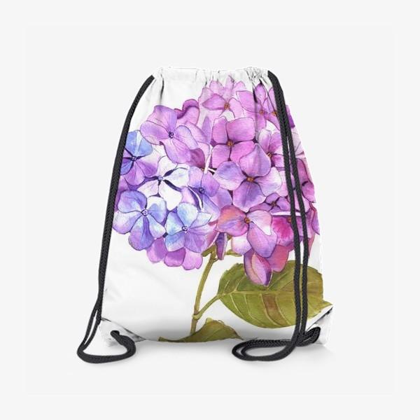 Рюкзак «Розовая гртензия»