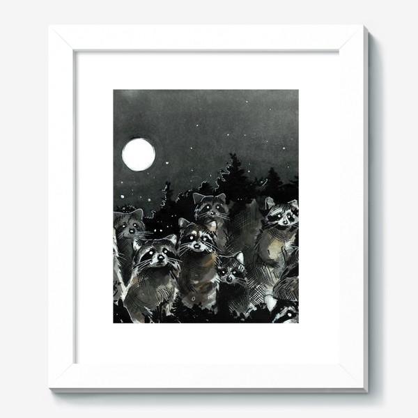 Картина «Зомби-еноты»