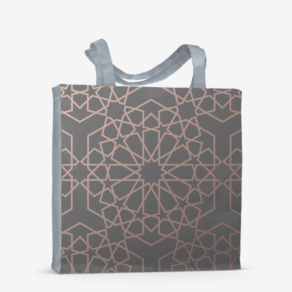 Сумка-шоппер «арабский паттерн»