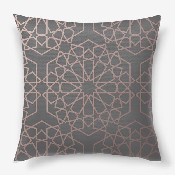 Подушка «арабский паттерн»