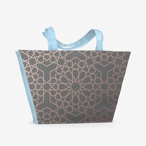 Пляжная сумка «арабский паттерн»