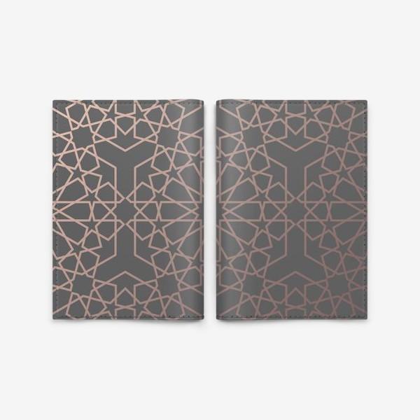 Обложка для паспорта «арабский паттерн»
