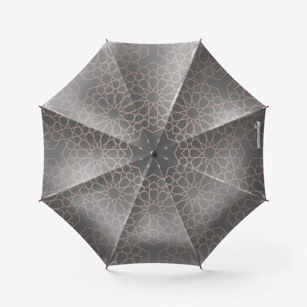 Зонт «арабский паттерн»