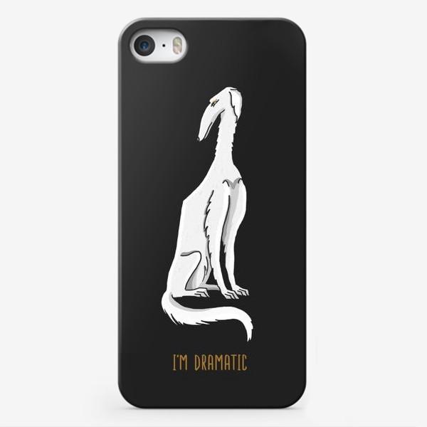 Чехол iPhone «ДРАМАТИК»