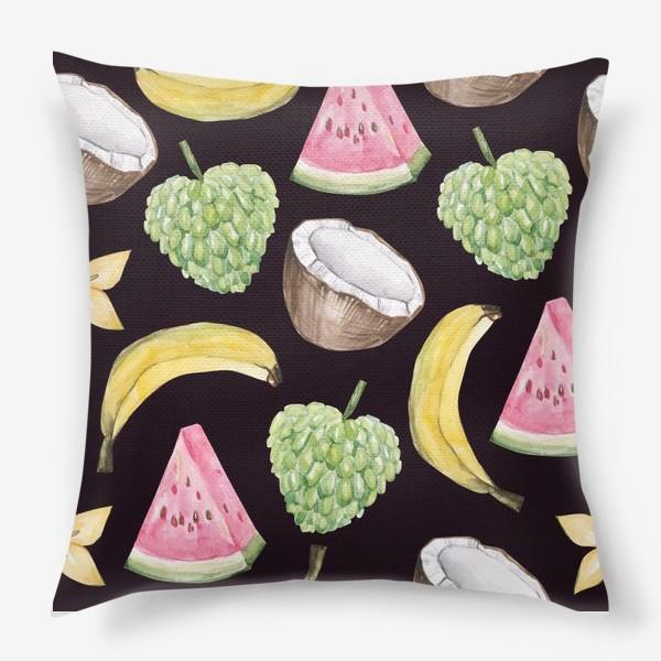 Подушка «Экзотические фрукты»