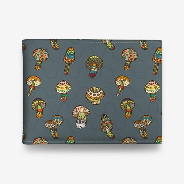 Кошелек «Веселые грибочки»