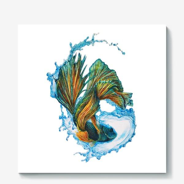 Холст «Рыбка»