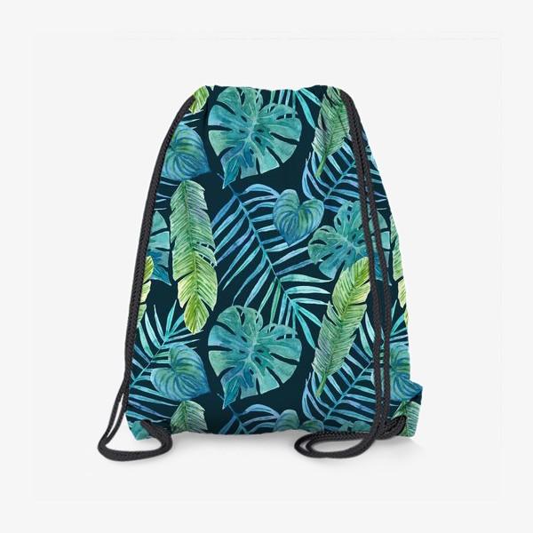 Рюкзак «Акварельные тропики»