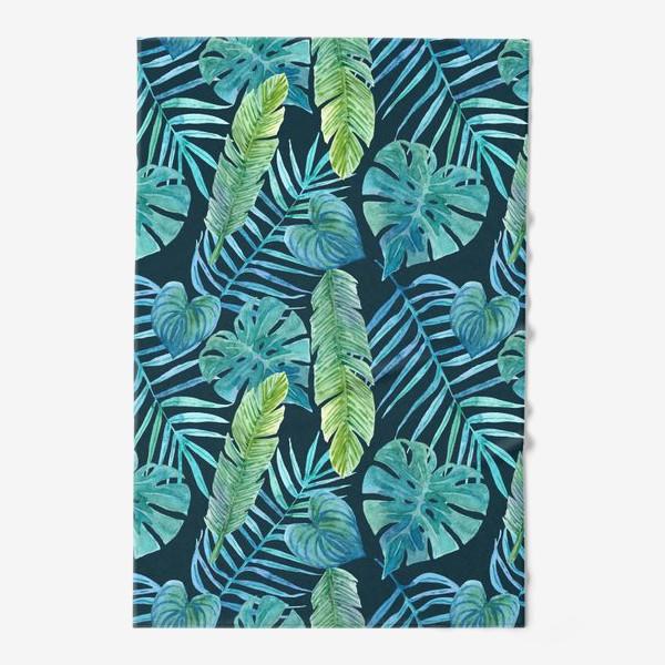 Полотенце «Акварельные тропики»