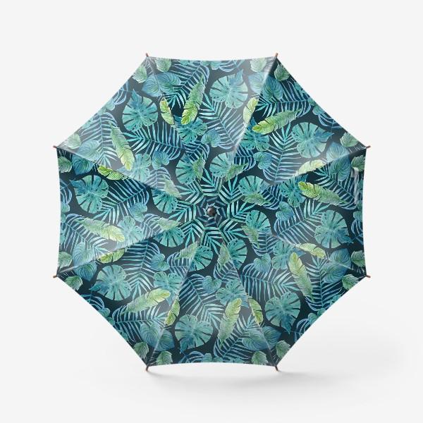 Зонт «Акварельные тропики»