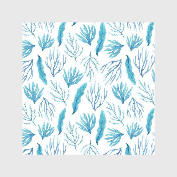 Шторы «Сине-зеленые водоросли»