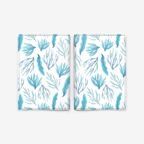 Обложка для паспорта «Сине-зеленые водоросли»