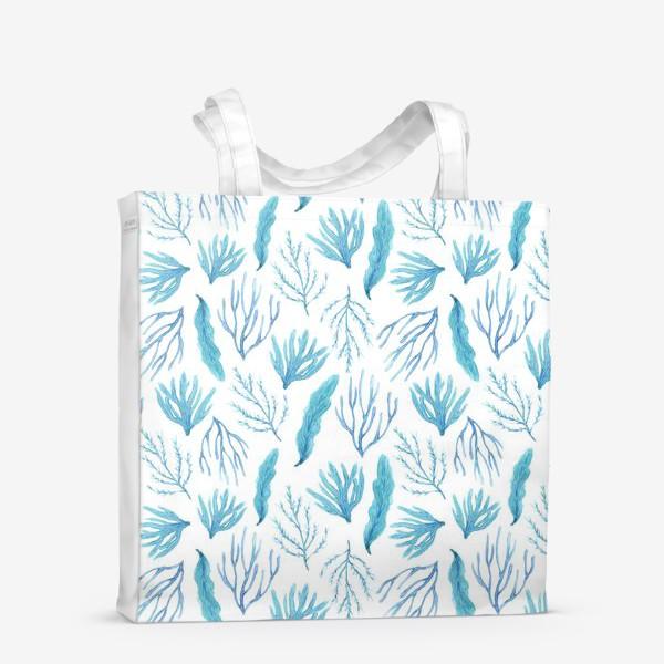 Сумка-шоппер «Сине-зеленые водоросли»