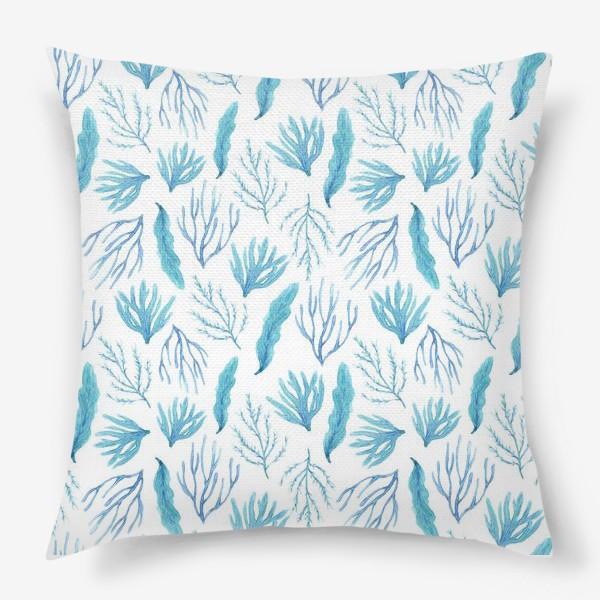 Подушка «Сине-зеленые водоросли»