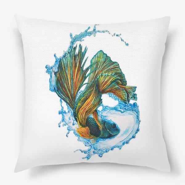 Подушка «Рыбка»