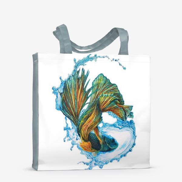 Сумка-шоппер «Рыбка»