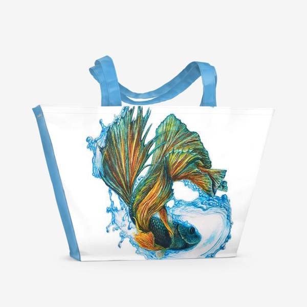 Пляжная сумка «Рыбка»