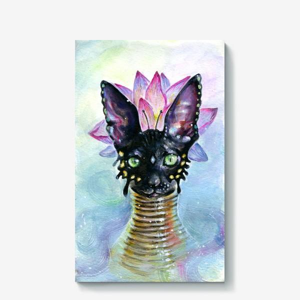 Холст «Богиня Кошка»