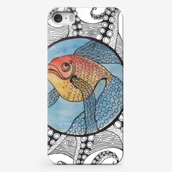 Чехол iPhone «золотая рыбка»