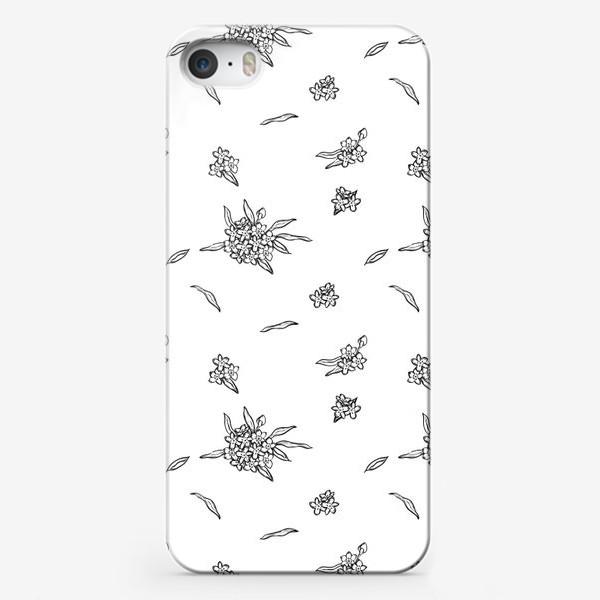Чехол iPhone «Незабудки»