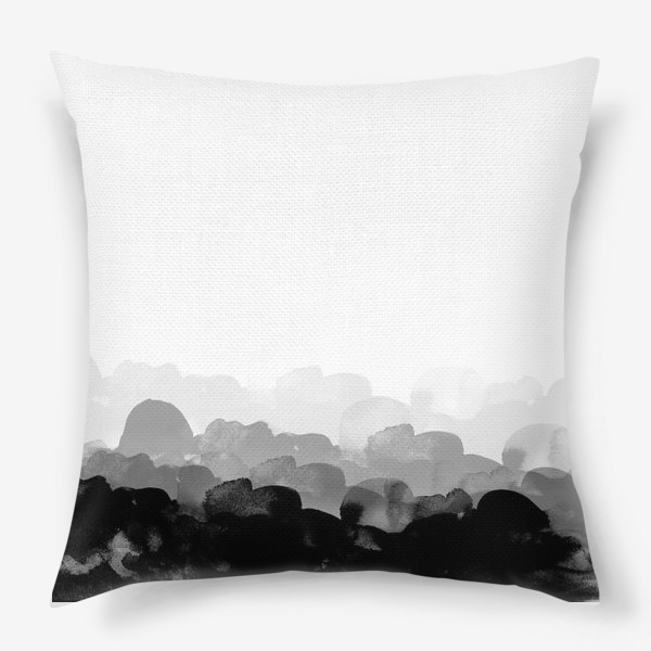 Подушка «Акварельные фантазии»