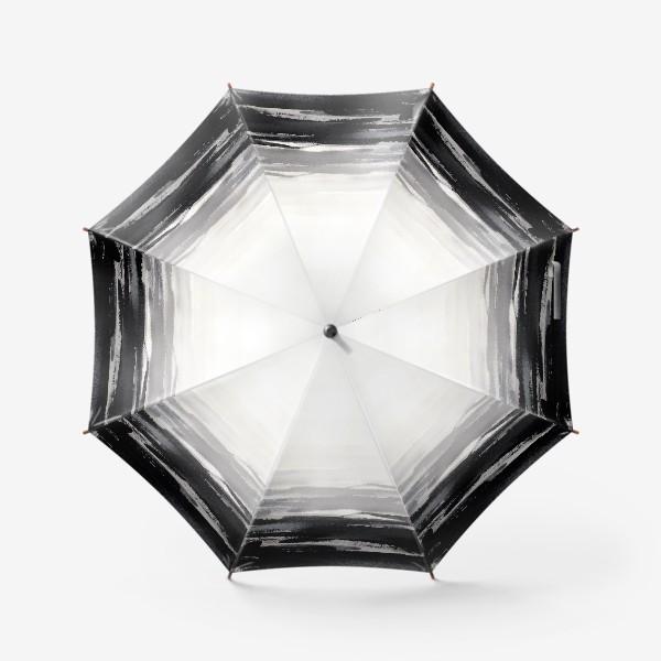 Зонт «Черно-белая акварель»