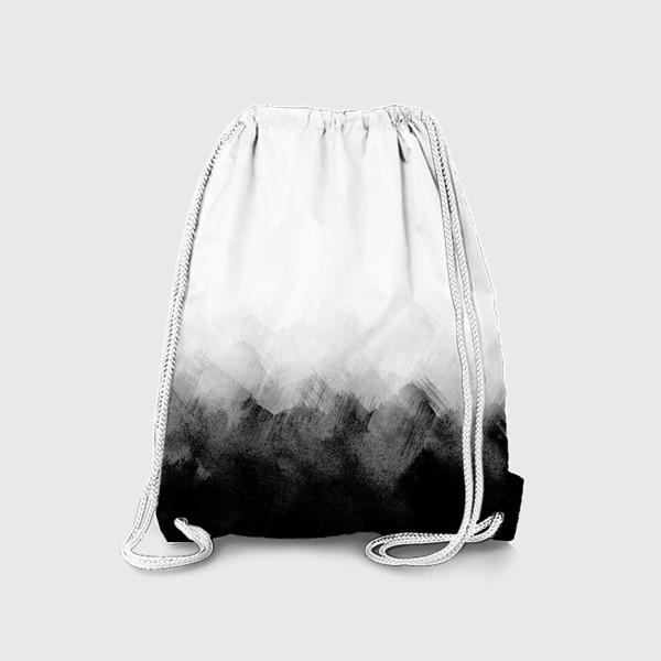 Рюкзак «Акварельный монохром»