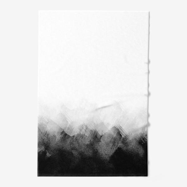Полотенце «Акварельный монохром»