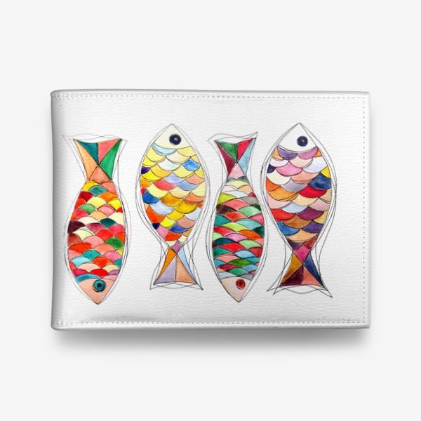 Кошелек «четыре  рыбы»