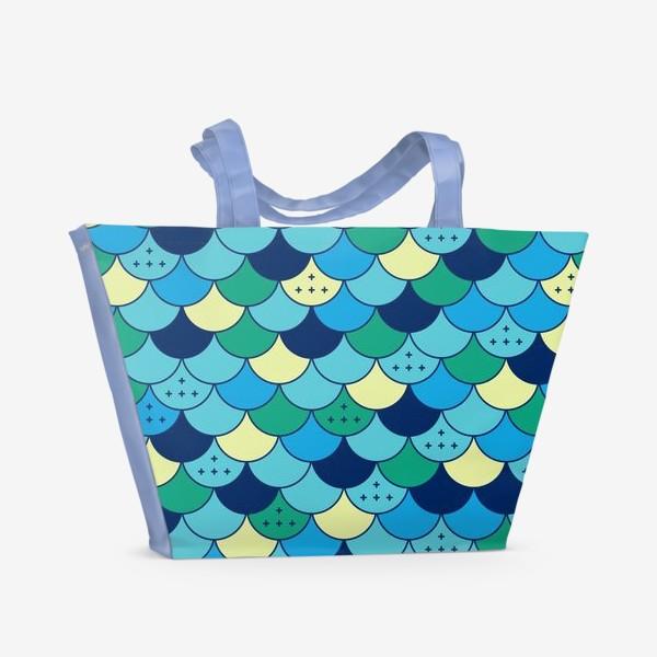 Пляжная сумка «Кожа русалки»