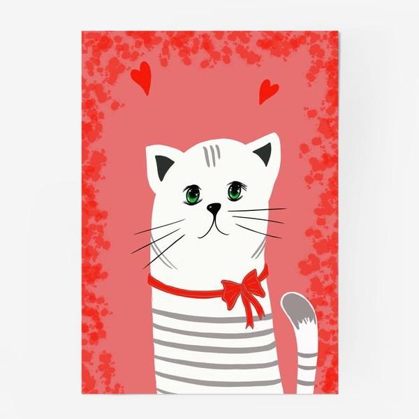 Постер «Мой ласковый и нежный зверь. Котик. Кот. Котэ»