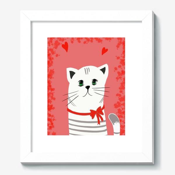 Картина «Мой ласковый и нежный зверь. Котик. Кот. Котэ»